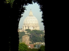 Rome keyhole view