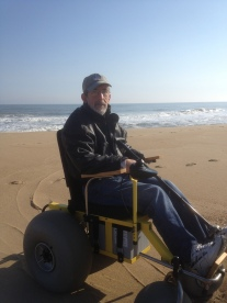 ed on beach buggy